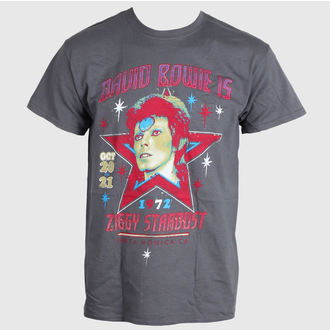 t-shirt metal men's David Bowie - Santa Monica - LIVE NATION - RTBOW1007
