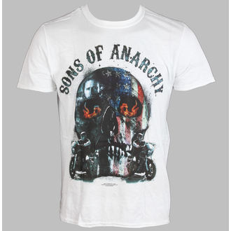 film t-shirt men's Sons Of Anarchy - Biker Skull - LIVE NATION - PE11067TSWP