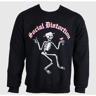 sweatshirt (no hood) men's Social Distortion - Skelton - BRAVADO, BRAVADO, Social Distortion
