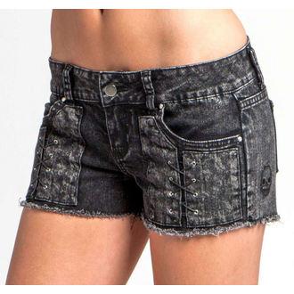 shorts women METAL MULISHA - DEAD WIRE DENIM, METAL MULISHA