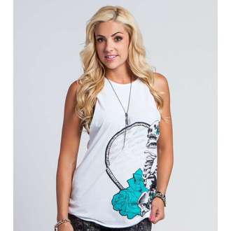 top women METAL MULISHA - PURE POETRY - WHT