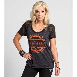 t-shirt street women's - VIOLINS - METAL MULISHA - M15703104.01_BLK