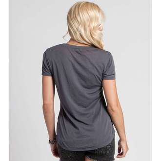 t-shirt street women's - RAVEN SCOOP - METAL MULISHA - M157S18115.01_CHA
