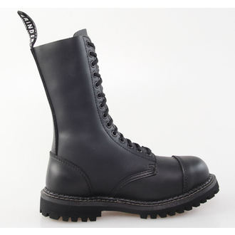 leather boots women's - GRINDERS - Herald Derby - Black
