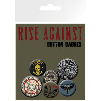 badges Rise Against - Shaking Hands - GB Posters, GB posters, Rise Against