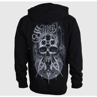 hoodie men's - Brinkster - SULLEN - BLK
