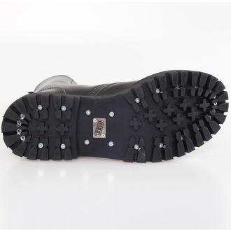 leather boots women's - STEEL - 105/106
