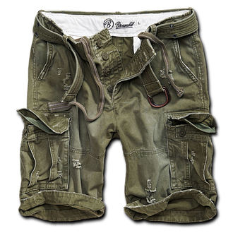 shorts men BRANDIT - Shell Valley Heavy Vintage - Olive - 2015/1