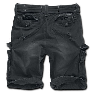 shorts men BRANDIT - Shell Valley Heavy Vintage - Black, BRANDIT