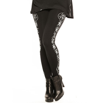 pants women (leggings) CVLT NATION - Black Mass - Black, CVLT NATION