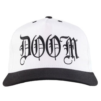 cap CVLT NATION - Doom - White / Black, CVLT NATION