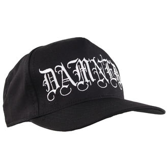 cap CVLT NATION - Damned - Black / White, CVLT NATION