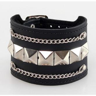 bracelet PYRAMIDS + chains - BWZ-134