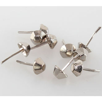 cones metal - 10pcs, BLACK & METAL