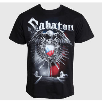t-shirt metal men's Sabaton - Czech Republic - CARTON - K_615