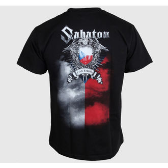 t-shirt metal men's Sabaton - Czech Republic - CARTON, CARTON, Sabaton