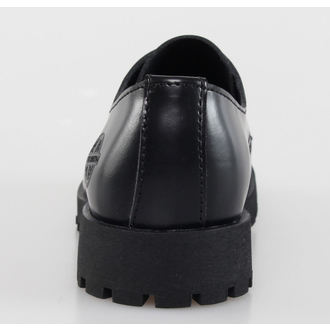 boots NEVERMIND - 3 eyelet - Black Polido - 10103S