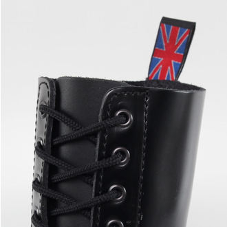 leather boots - NEVERMIND - 10114S_PolidoBlack