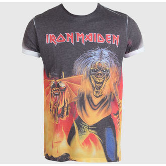 t-shirt metal men's Iron Maiden - The Number of the Beast - ROCK OFF - IMPSB01MB