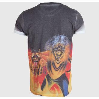 t-shirt metal men's Iron Maiden - The Number of the Beast - ROCK OFF, ROCK OFF, Iron Maiden