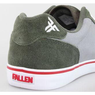 low sneakers men's Guns N' Roses - FALLEN - Surplus Green/Cement Grey