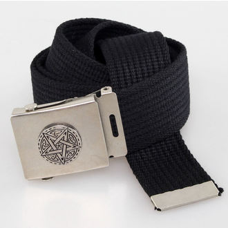 belt PENTAGRAM - Black, BLACK & METAL