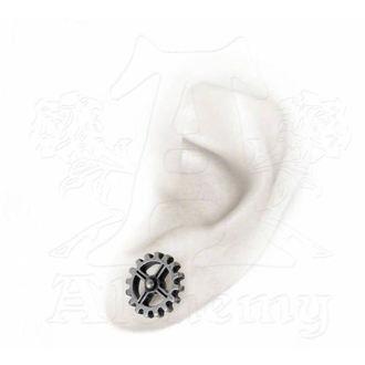 earrings (couple) ALCHEMY GOTHIC - Industrilobe - E353