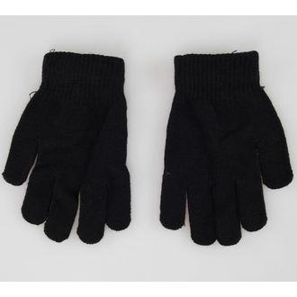 gloves Skull - Black / White