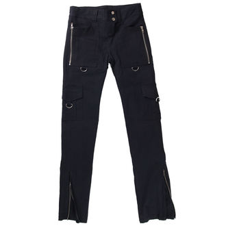 pants women HERD LEATHER STUFF - Black - HLSJD19