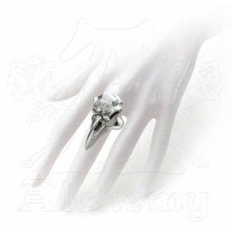 ring ALCHEMY GOTHIC - Rabeschadel - Raven - R201