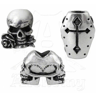 beads (3pcs) to hair (beard) ALCHEMY GOTHIC - Janus / Coffin / Alchemist - ABR1
