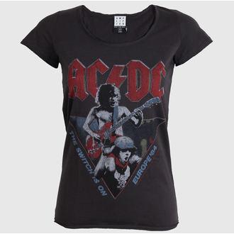 t-shirt metal women's AC-DC - AC/DC - AMPLIFIED - ZAV601ACE