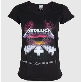 t-shirt metal women's Metallica - - AMPLIFIED, AMPLIFIED, Metallica