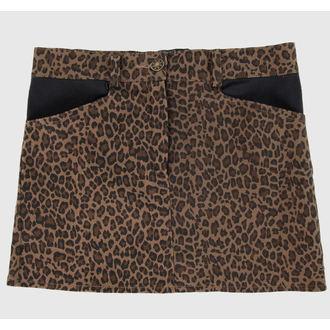 skirt women's COL LECTIF - Brown, NNM