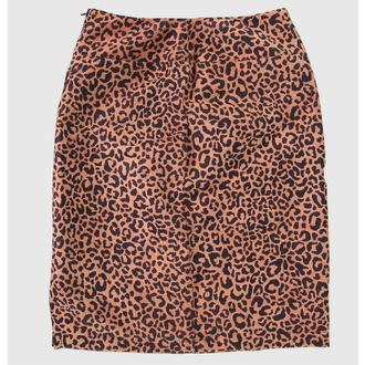 skirt women's HEARTBREAKER - Brown - PS
