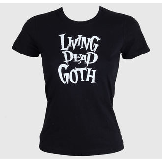 t-shirt women's - Living Death Goth - BAT ATTACK - FDTD34215