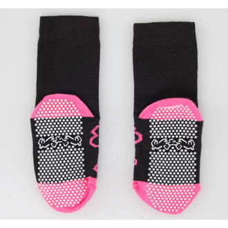 socks children's LEATHER HEAVEN - Pink Skull, NNM