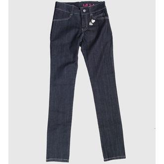 pants women HELL BUNNY - Blue, HELL BUNNY