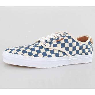 low sneakers men's - Chima Ferguson Pro (Checkerb Oard) - VANS - Tan/Blue, VANS