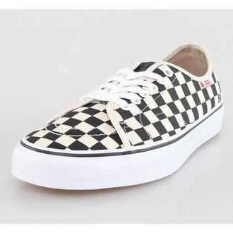 low sneakers men's - AV Classic (Chkrs) - VANS - Blk/Wht, VANS