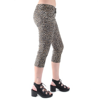 pants 3/4 women 3RDAND56th - Leopard - SL012