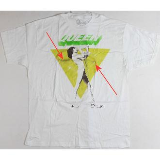 t-shirt men Queen - Freddy Sings - Bravado - QEN1003, BRAVADO, Queen