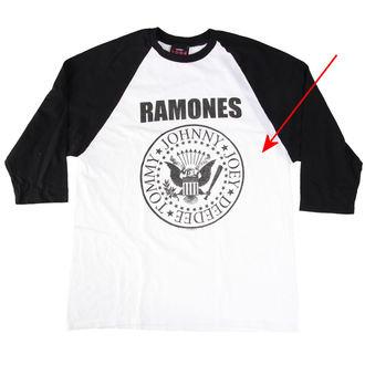 t-shirt men Ramones - President Seal - White - Bravado - RMN1036, BRAVADO, Ramones