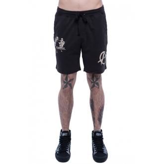 shorts men IRON FIST - Libbertarian Lounge - Black - IFMSHT037