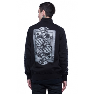 sweatshirt (no hood) men's - Black - IRON FIST - IFMSWT032