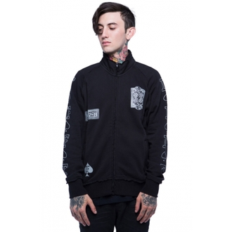 sweatshirt (no hood) men's - Black - IRON FIST - IFMSWT032