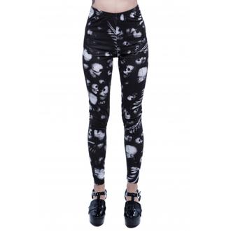 pants women (leggings) IRON FIST - Infidelity - Black - IFLLEG078