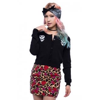 sweater women's IRON FIST - Misfits - Black - IFLSWT020