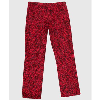 pants women COL LECTIF - Red, NNM