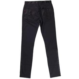 pants QUEEN OF DARKNESS - Black, QUEEN OF DARKNESS